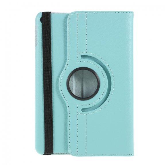 AppleKing pouzdro s texturou kůže pro iPad mini 4 / 5 - světle modré - možnost vrátit zboží ZDARMA do 30ti dní