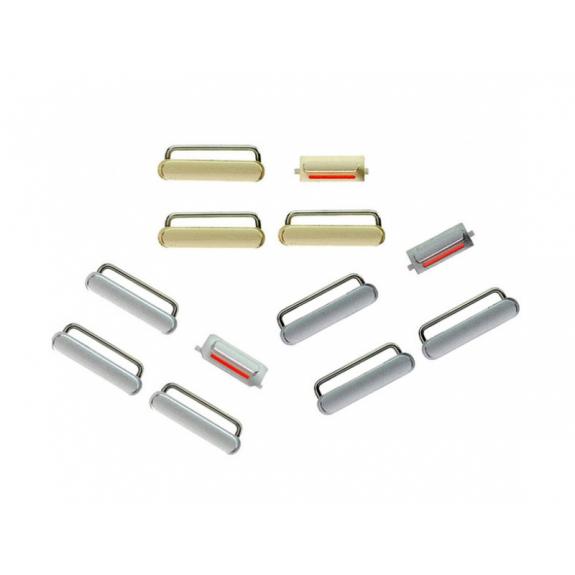 AppleKing náhradní postranní tlačítka pro Apple iPhone 6 (Hlasitost + Zapnutí / vypnutí + Ztlumení) - stříbrná (Silver) - možnost vrátit zboží ZDARMA do 30ti dní