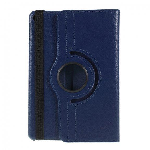 AppleKing pouzdro s texturou kůže pro iPad mini 4 / 5 - tmavě modré - možnost vrátit zboží ZDARMA do 30ti dní