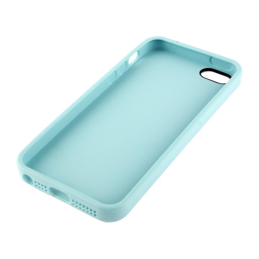 ... Kryt v originálním Apple designu pro iPhone 5   5S   SE - modrý ... 427bdb1ec2d