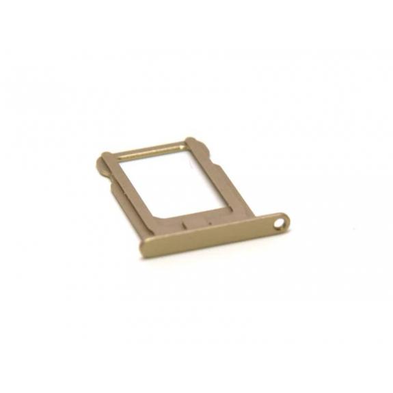 Rámeček / šuplík na SIM kartu pro Apple iPhone 5S - zlatý (Gold) - možnost vrátit zboží ZDARMA do 30ti dní