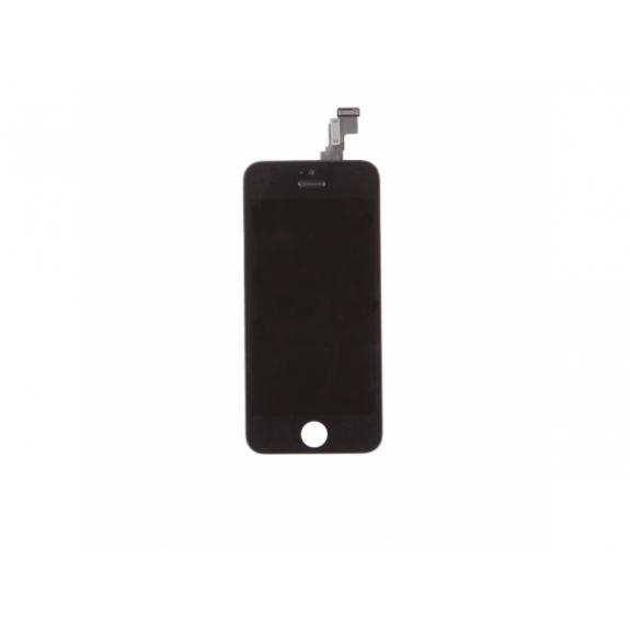 Náhradní LCD displej s dotykovým sklem a rámečkem pro Apple iPhone 5C - TOP kvalita - černý - možnost vrátit zboží ZDARMA do 30ti dní