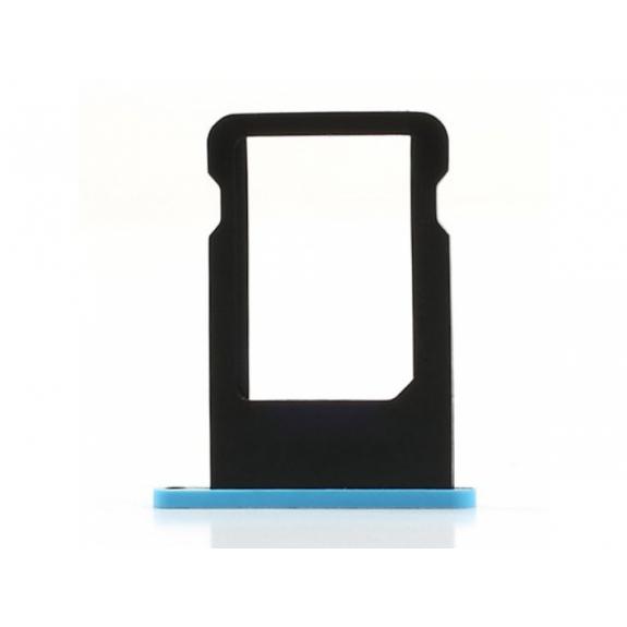 Rámeček / šuplík na SIM kartu pro Apple iPhone 5C - modrý (Blue) - možnost vrátit zboží ZDARMA do 30ti dní