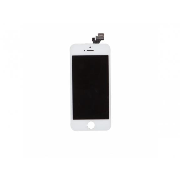 AppleKing náhradní LCD displej s dotykovým sklem a rámečkem pro Apple iPhone 5 - TOP kvalita - bílý - možnost vrátit zboží ZDARMA do 30ti dní