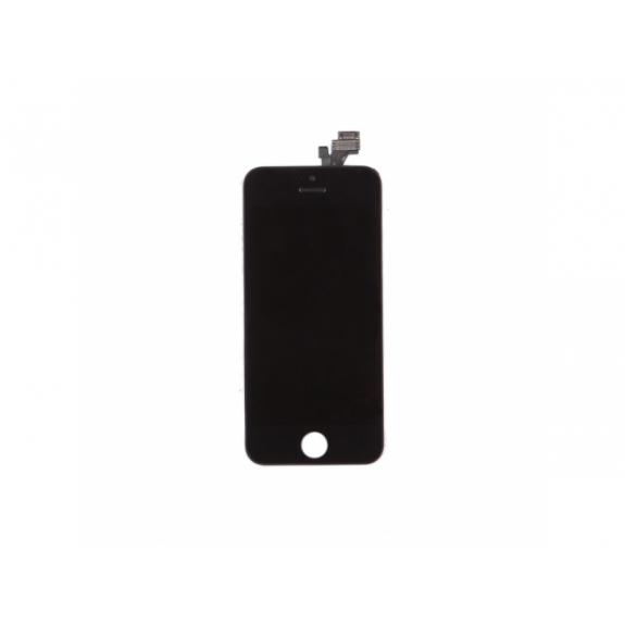 AppleKing náhradní LCD displej s dotykovým sklem a rámečkem pro Apple iPhone 5 - TOP kvalita - černý - možnost vrátit zboží ZDARMA do 30ti dní