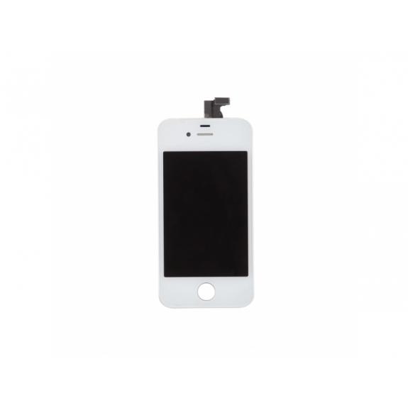 AppleKing náhradní LCD displej s dotykovým sklem a rámečkem pro Apple iPhone 4S - TOP kvalita - bílý - možnost vrátit zboží ZDARMA do 30ti dní