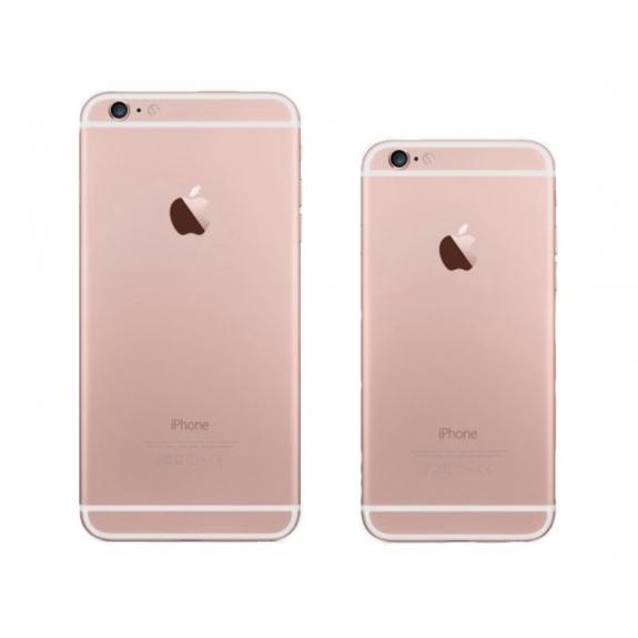 AppleKing zadní náhradní kryt včetně tlačítek pro Apple iPhone 6 - růžově zlatý (Rose Gold) - možnost vrátit zboží ZDARMA do 30ti dní
