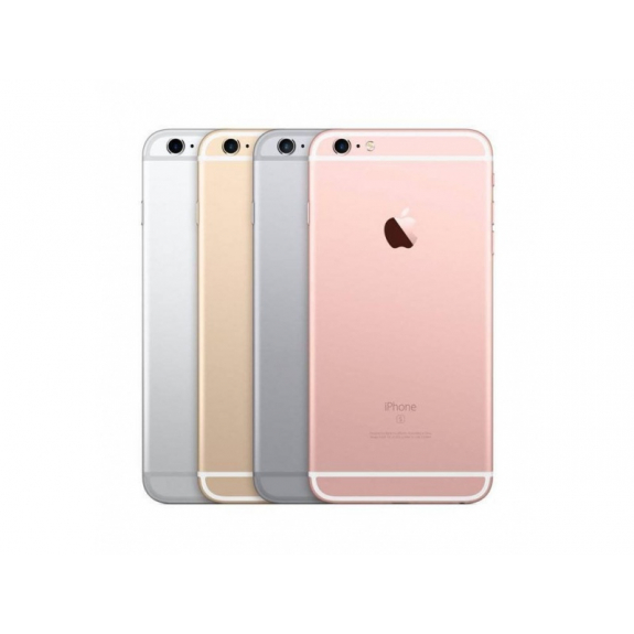 AppleKing zadní náhradní kryt včetně tlačítek pro Apple iPhone 6S - stříbrný - možnost vrátit zboží ZDARMA do 30ti dní