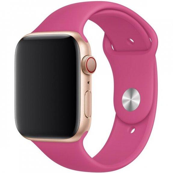 Originální Apple silikonový řemínek pro Watch 44mm - tropicky růžový MV782ZM/A - možnost vrátit zboží ZDARMA do 30ti dní