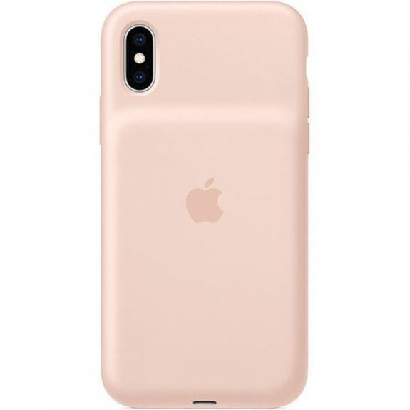 Originální Apple zadní kryt s baterií pro iPhone XS - pískově růžový MVQP2ZM/A - možnost vrátit zboží ZDARMA do 30ti dní