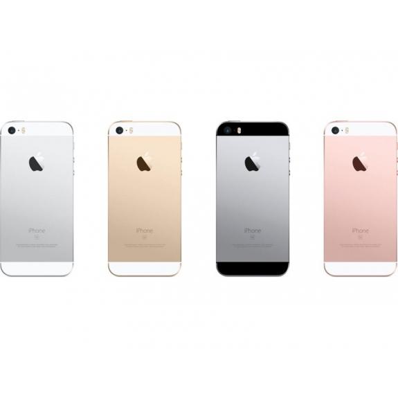 AppleKing zadní náhradní kryt včetně tlačítek pro Apple iPhone SE - zlatý - možnost vrátit zboží ZDARMA do 30ti dní