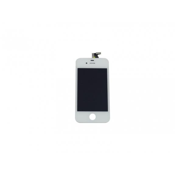 Náhradní LCD displej s dotykovým sklem a rámečkem pro Apple iPhone 4S - bílý - možnost vrátit zboží ZDARMA do 30ti dní