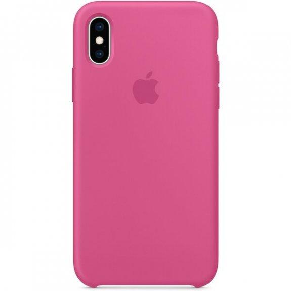 Apple silikonový kryt pro iPhone XS - tropicky růžový MW9A2ZM/A - možnost vrátit zboží ZDARMA do 30ti dní
