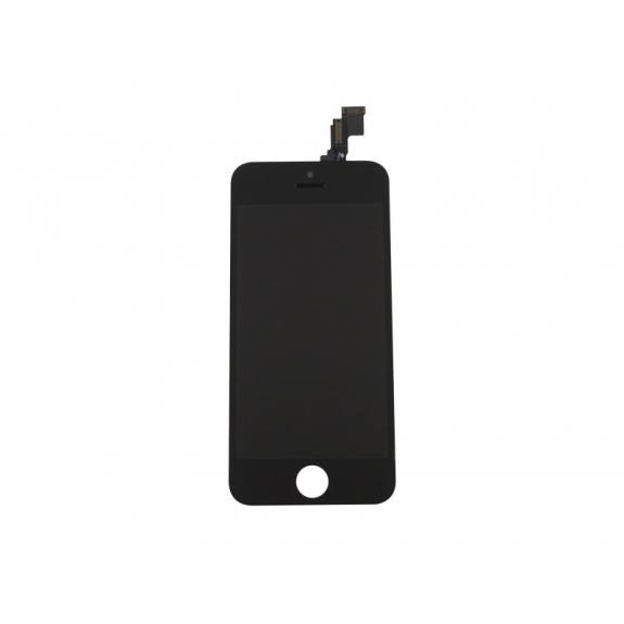 AppleKing náhradní LCD displej s dotykovým sklem a rámečkem pro Apple iPhone 5C - černý - možnost vrátit zboží ZDARMA do 30ti dní