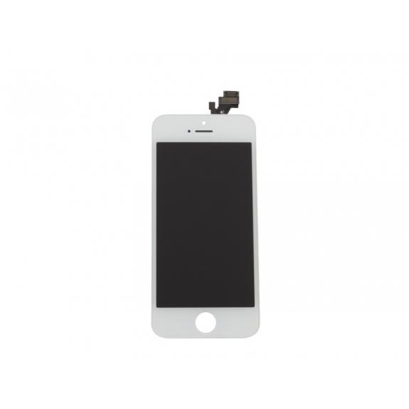 Náhradní LCD displej s dotykovým sklem a rámečkem pro Apple iPhone 5 - bílý - možnost vrátit zboží ZDARMA do 30ti dní