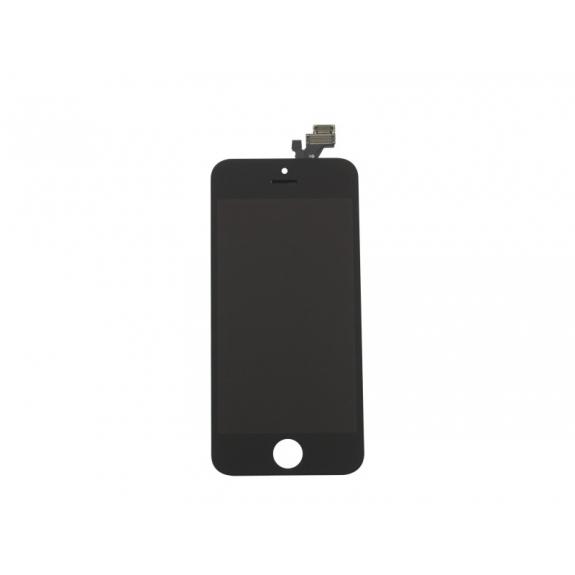 Náhradní LCD displej s dotykovým sklem a rámečkem pro Apple iPhone 5 - černý - možnost vrátit zboží ZDARMA do 30ti dní