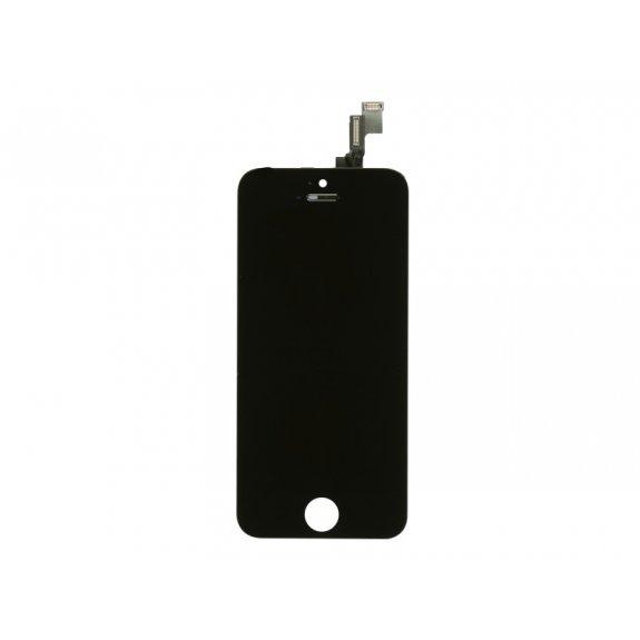 Náhradní LCD displej s dotykovým sklem a rámečkem pro Apple iPhone 5S - černý - možnost vrátit zboží ZDARMA do 30ti dní