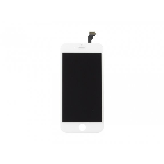 Náhradní LCD displej s dotykovým sklem a rámečkem pro Apple iPhone 6 - bílý - možnost vrátit zboží ZDARMA do 30ti dní