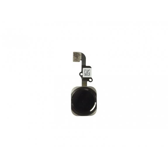 AppleKing náhradní Home Button s flex kabelem pro Apple iPhone 6S - vesmírně šedý (Space Gray) - možnost vrátit zboží ZDARMA do 30ti dní