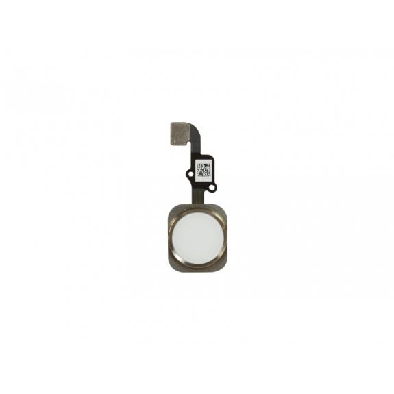 AppleKing náhradní Home Button s flex kabelem pro Apple iPhone 6S - zlatý - možnost vrátit zboží ZDARMA do 30ti dní