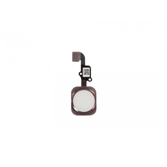 AppleKing náhradní Home Button s flex kabelem pro Apple iPhone 6S - růžově zlatý (Rose Gold) - možnost vrátit zboží ZDARMA do 30ti dní