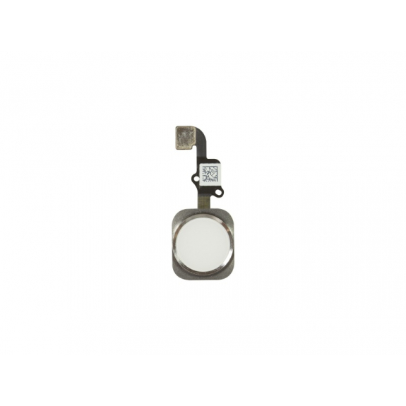 AppleKing náhradní Home Button s flex kabelem pro Apple iPhone 6S - stříbrný - možnost vrátit