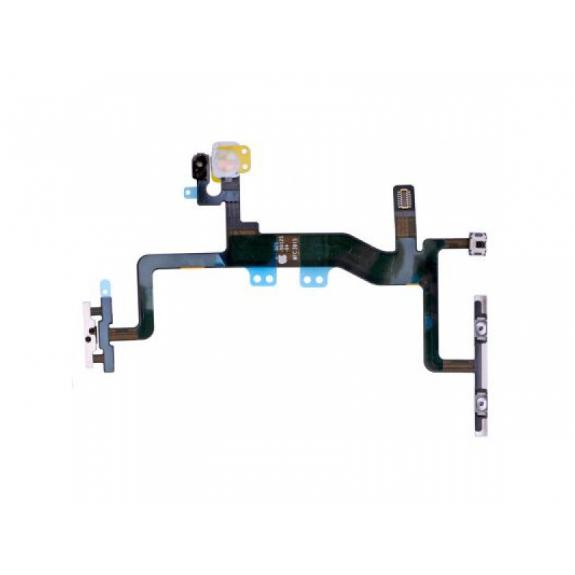 Flex kabel s přepínačem Mute + ovládání hlasitosti + Power spínač pro Apple iPhone 6S - možnost vrátit zboží ZDARMA do 30ti dní