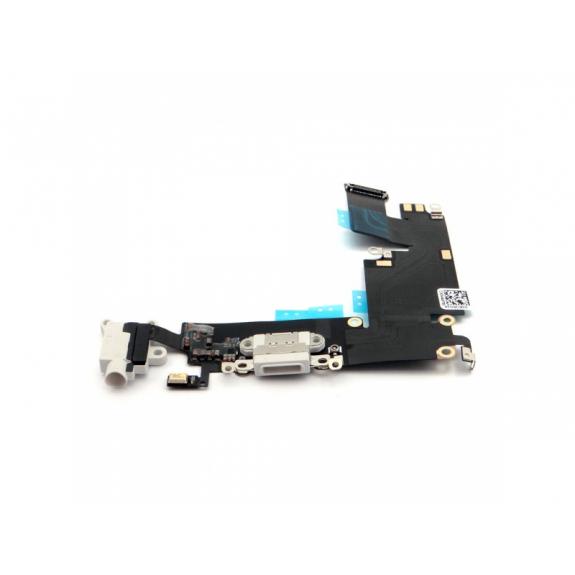 AppleKing napájecí a datový konektor s jack konektorem a flex kabelem pro Apple iPhone 6S Plus - bílá - možnost vrátit zboží ZDARMA do 30ti dní