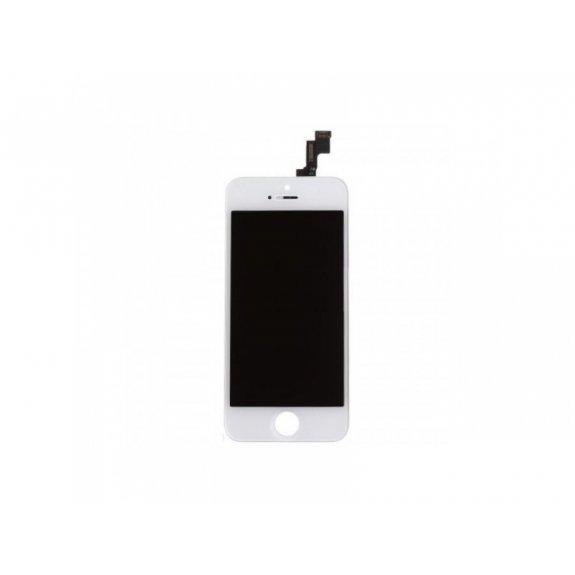 Náhradní LCD displej s dotykovým sklem a rámečkem pro Apple iPhone 5S / SE - TOP kvalita - bílý - možnost vrátit zboží ZDARMA do 30ti dní