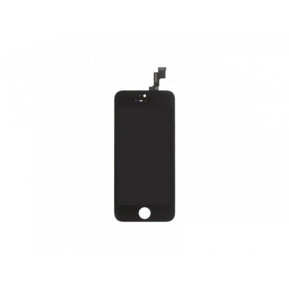 Náhradní LCD displej s dotykovým sklem a rámečkem pro Apple iPhone 5S / SE - TOP kvalita - černý - možnost vrátit zboží ZDARMA do 30ti dní