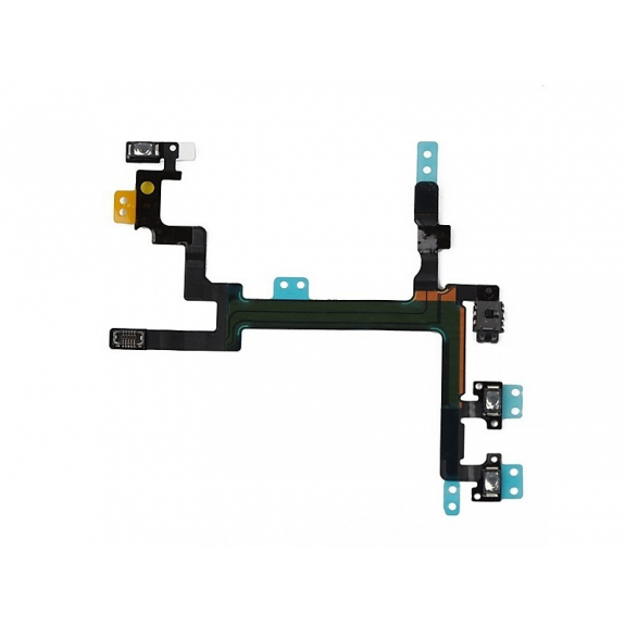 AppleKing flex kabel s mikrospínačem Power, bleskem kamery a vrchním mikrofonem pro Apple iPhone SE - možnost vrátit zboží ZDARMA do 30ti dní