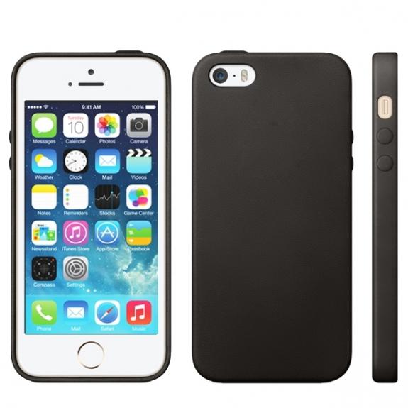 AppleKing kryt v originálním Apple designu pro iPhone 5 / 5S / SE - černý - možnost vrátit zboží ZDARMA do 30ti dní
