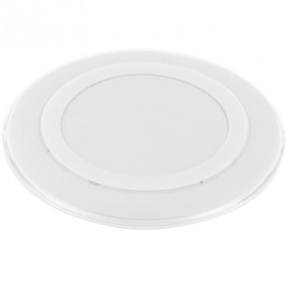 AppleKing bezdrátová Qi nabíječka pro Apple iPhone - bílá - možnost vrátit zboží ZDARMA do 30ti dní