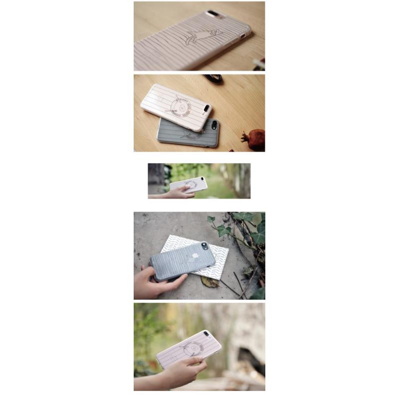 Maoxin Plastovy Kryt Obal Pro Apple Iphone 8 7 Kreslena