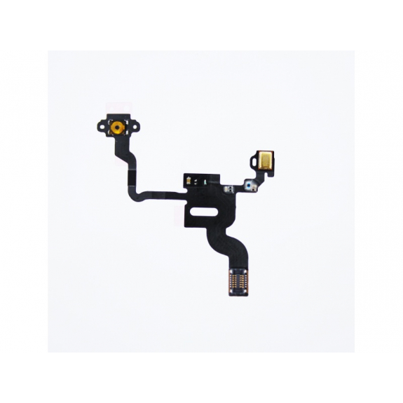 AppleKing flex kabel s mikrospínačem power, SMD mikrofonem a proximity senzorem pro Apple iPhone 4S - možnost vrátit zboží ZDARMA do 30ti dní