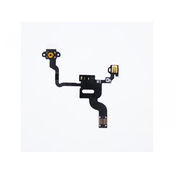 AppleKing flex kabel s mikrospínačem power, SMD mikrofonem a proximity senzorem pro Apple iPhone 4 - možnost vrátit zboží ZDARMA do 30ti dní