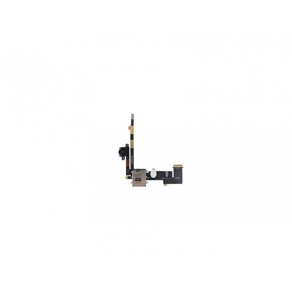 Flex kabel s Audio Jack konektorem a slotem pro SIM kartu pro Apple iPad 2 - 3G verze - možnost vrátit zboží ZDARMA do 30ti dní