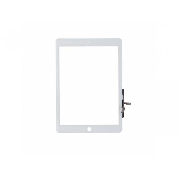 AppleKing přední dotykové sklo (touch screen) pro Apple iPad Air s tlačítkem Home Button a lepidlem - TOP kvalita - bílé - možnost vrátit zboží ZDARMA do 30ti dní