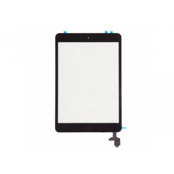 AppleKing přední dotykové sklo (touch screen) s IC konektorem pro Apple iPad mini 1 - černé - možnost vrátit zboží ZDARMA do 30ti dní