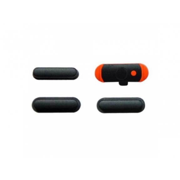 AppleKing náhradní postranní tlačítka pro Apple iPad Mini (Hlasitost + Zapnutí / vypnutí + Ztlumení) - vesmírně šedá (Space Gray) - možnost vrátit zboží ZDARMA do 30ti dní