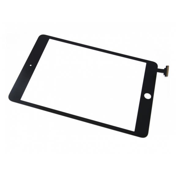 AppleKing přední dotykové sklo (touch screen) pro Apple iPad mini s tlačítkem Home Button a lepidlem - černé - možnost vrátit zboží ZDARMA do 30ti dní