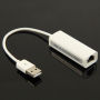 Vysokorychlostí ethernet USB adaptér - 10/100Mbps, RJ45, USB 2.0