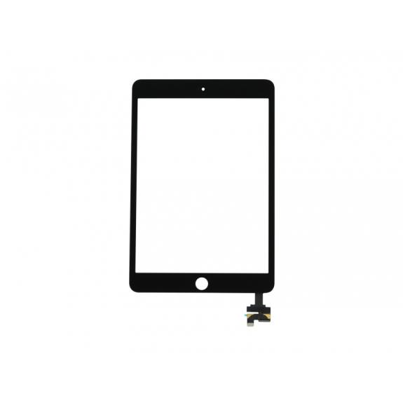 AppleKing přední dotykové sklo (touch screen) pro Apple iPad mini 3 s tlačítkem Home Button a lepidlem - černé - možnost vrátit zboží ZDARMA do 30ti dní