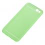 Ultra tenký plastový kryt pro iPhone 6 / 6S - s ochranou zadní kamery - zelený