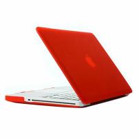 """Tvrzený ochranný plastový obal / kryt pro Apple Macbook Pro 13.3"""" (model A1278) – červený"""