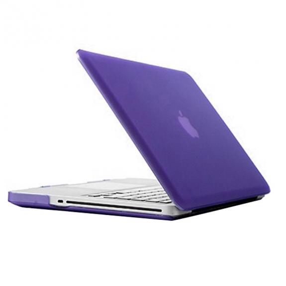 """AppleKing tvrzený ochranný plastový obal / kryt pro Apple Macbook Pro 13"""" (model A1278) – fialo"""