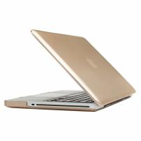 """Tvrzený ochranný plastový obal / kryt pro Apple Macbook Pro 13.3"""" (model A1278) – zlatý"""