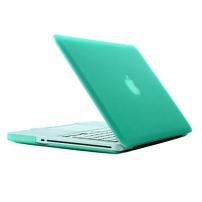 """Tvrzený ochranný plastový obal / kryt pro Apple Macbook Pro 13.3"""" (model A1278) – zelený"""