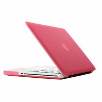 """Tvrzený ochranný plastový obal / kryt pro Apple Macbook Pro 13.3"""" (model A1278) – růžový"""
