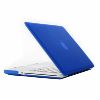 """Tvrzený ochranný plastový obal / kryt pro Apple Macbook Pro 13.3"""" (model A1278) – modrý"""